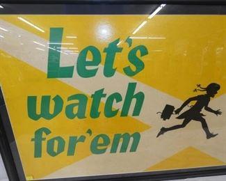 VIEW 4 WATCH CHILDREN SIGN