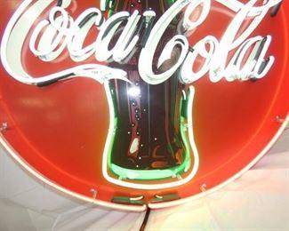 VIEW 4 3 COLOR COKE NEON SIGN