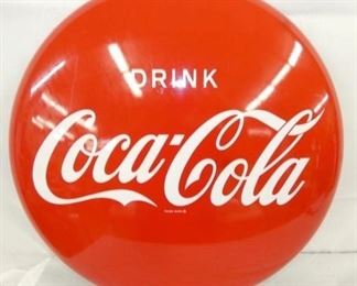 24IN PAINTED DRINK COKE BUTTON