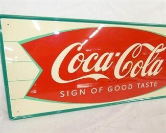 VIEW 3 LEFTSIDE COKE FISHTAIL SIGN