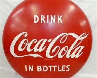48IN PAINTED DRINK COKE BUTTON