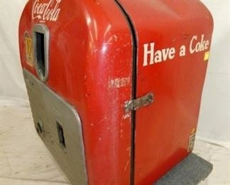 VIEW 3 MODEL 27 10CENT COKE MACHINE