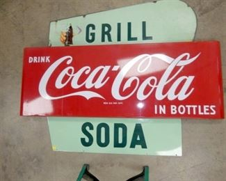 VIEW 3 53IN GRILL AND SODA SIGNS