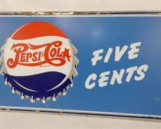 VIEW 3 RIGHTSIDE 26X10 PEPSI SIGN