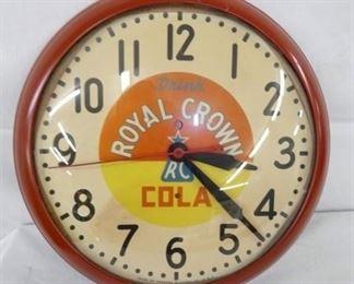 15IN ROYAL CROWN CLOCK