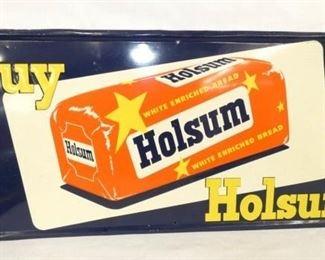 27X13 EMB. HOLSUM BREAD SIGN