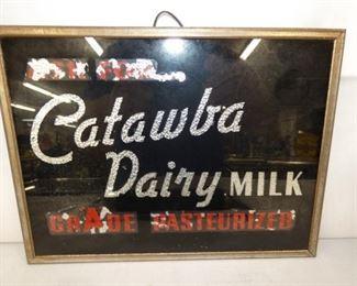 12X9 GLASS CATAWBA DAIRY MILK