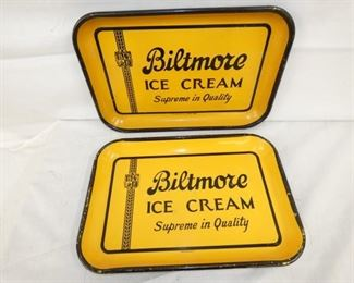15X10 OLD STOCK BILTMORE SERVING TRAYS