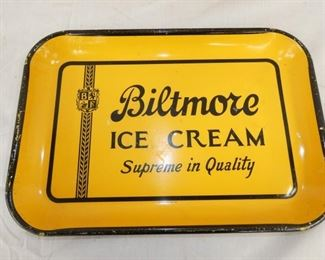 VIEW 2 BILTMORE ICE CREAM TRAY