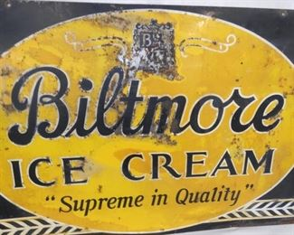 VIEW 4 36X24 1951 BILTMORE ICE CREAM