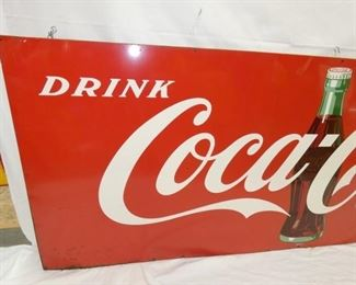 VIEW 2 LEFTSIDE DRINK COKE SIGN