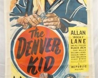 44X78 THE DEVER KID MOVER POSTER