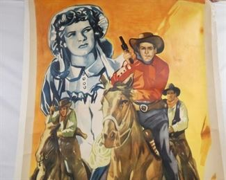 VIEW 2 CLOSEUP WESTERN MOVIE POSTER