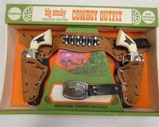 HUBLEY COWBOY OUTFIT SET W/ BOX