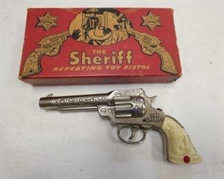 THE SHERIFF STEVENS PISTOL W/ BOX