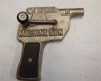 EARLY CAST TOP MACHINE GUN