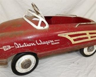 VIEW 3 OTHERSIDE PEDAL CAR