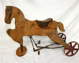 VIEW 4 SIDE 2 HORSE TRIKE