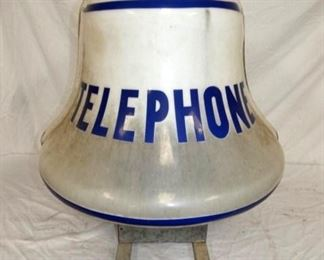 36X30 TELEPHONE BOOTH LIGHTED BELL
