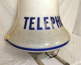 VIEW 3 LEFTSIDE LIGHTED TELEPHONE BELL