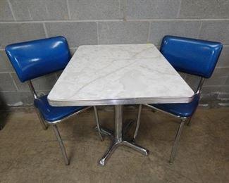 CROME 3PC. TABLE SET