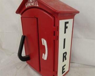 GAMEWELL FIRE CALL BOX