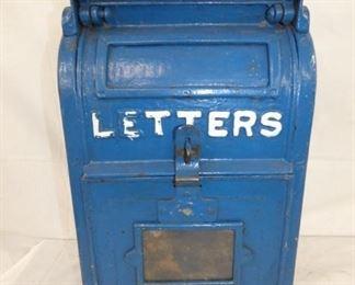 CAST US LETTERS MAIL BOX
