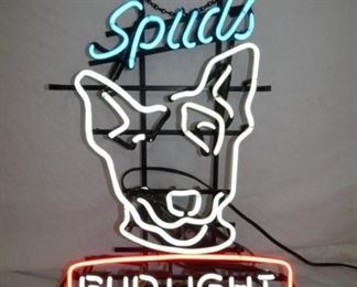 21X27 3 COLOR SPUDS BUDLIGHT NEON