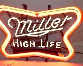 21X17 MILLER HIGH LIFE NEON