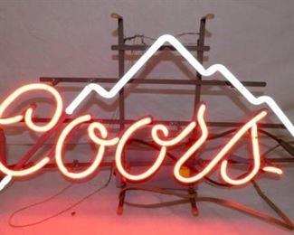 30X16 COORS NEON W/ MT.