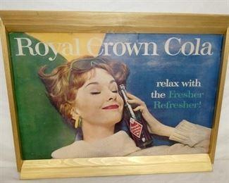 35X27 ROYAL CROWN COLA CARDBOARD
