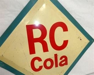 VIEW 2 RC COLA SIGN