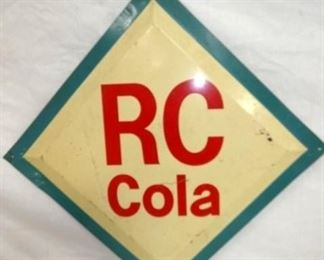 24IN RC COLA DIAMOND SIGN