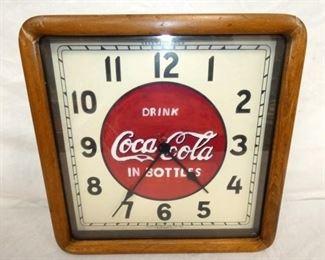 16IN Coca Cola CLOCK