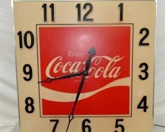 36IN COCA COLA STADIUM CLOCK