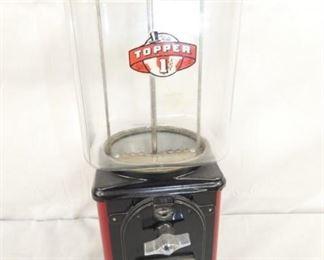 TOPPER PENNY GUM MACHINE