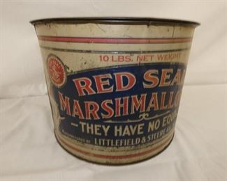 VIEW 2 RED SEAL TIN