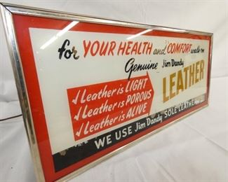 VIEW 2 LEFTSIDE LEATHER SIGN