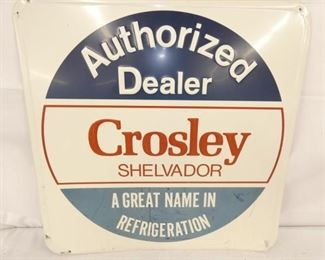 24X24 CROSLEY DEALER SIGN