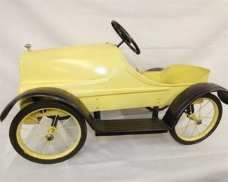 VIEW 4 SIDE 2 PEDAL CAR