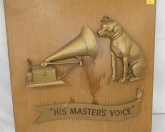 24X24 EMB RCA THE MASTERS VOICE
