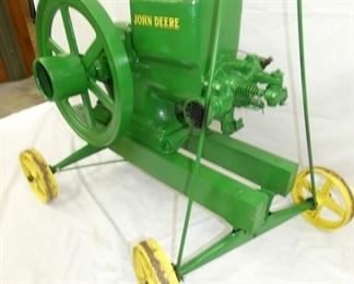 VIEW 7 JD HIT & MISS ENGINE - TO BE SOLD AT SATURDAY AUCTION!