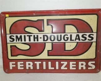 47X29 EMB SMITH-DOUGLAS FERTILIZER SIGN