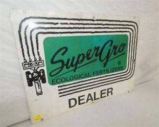 VIEW 2 LEFTSIDE SUPER GRO DEALER SIGN