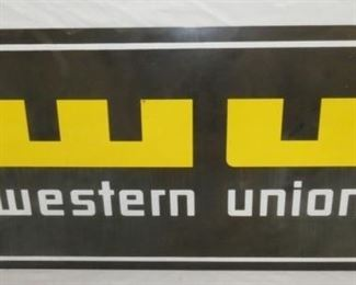 VIEW 2 SIDE 2 WESTERN UNION SIGN