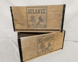 1937 WOODEN ATLANTIC BLACK AMERICANA