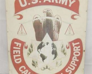 24X31 US ARMY FIELD SUPPORT SIGN