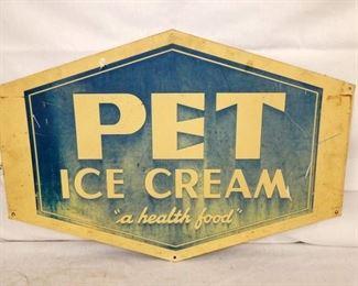 36X24 PET ICE CREAM SIGN
