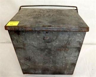BILTMORE MILK BOX