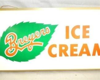 25X12 BREYERS ICE CREAM LIGHTUP